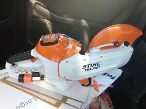 Stihl tsa 230 Concrete Saw battery and charger included.