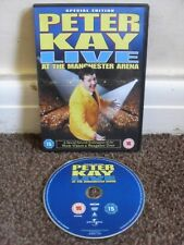 PETER KAY LIVE AT THE MANCHESTER ARENA SPECIAL EDITION DVD