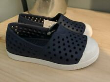 New Old Navy Toddler Perforated Water Shoes Navy Blue Size 8