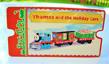 THOMAS THE TANK ENGINE 2007 Take Along Card for THOMAS AND THE HOLIDAY CARS Nice