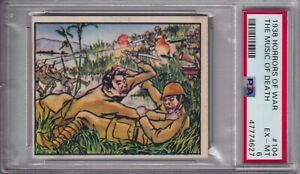 1938 HORRORS OF WAR #104 THE MUSIC OF DEATH PSA 6
