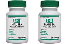 MEDINATURA BHI Nausea 100 tabs(Paks of 2)
