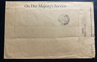 1971 British Field Post office 168 In Hong Kong OHMS Cover To Kowloon