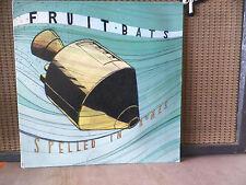 FRUIT BATS- SPELLED IN BONES- RARE- VINYL RECORD VG+  SUB POP-
