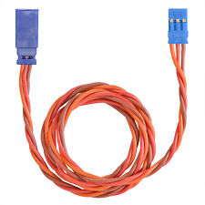 Servo Extension Cable Graupner JR Uni 0.34 M2 Twisted Silicone 500mm partcor