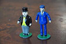 THOMAS TANK ENGINE Diecast Fat Controller Sir Topham Hatt & Station Master- Good