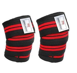 Weight Lifting Knee Wraps Powerlifting Training Bandage Crossfit Leg Support Gym