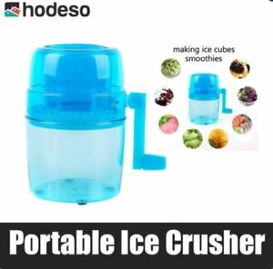 Hodeso 1.1L Portable Hand Crank Manual Mini Ice Crusher