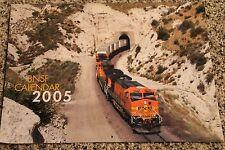 Burlington Northern Santa Fe Railroad 2005 Calendar     BNSF
