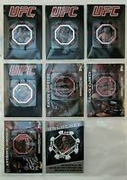 UFC Topps Exclusive Poker Chip & Commemorative Flag Patch Card Collection