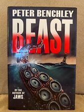 Beast by Peter Benchley Hardcover by the author of Jaws 1991
