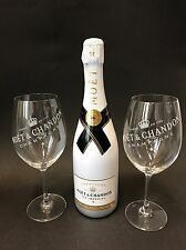 Moet Chandon Ice Imperial Champagner 0,75l 12% Vol + 2 Ice Imperial Glas Gläser
