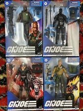 GI Joe Classified Series lot of 4 brand new 01-04 Figures Sealed