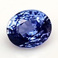 Saphir Bleu - Sri-Lanka - 2,15 Carats - Unheated Blue Sapphire - Ceylon Color !