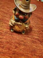 1974 SHERIFF Vintage COOKIE JAR by CALIFORNIA ORIGINALS Sheriff Hole in Hat