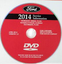 2014 Ford Mustang, GT, Cobra Factory Service Repair Shop Workshop Manual DVD-ROM