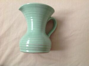 """LOVATTS GREEN RIBBED. 5.75"""" JUG PITCHER VERY GOOD CONDITION"""