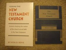 THE NEW TESTAMENT CHURCH ~ Church of Christ ~ TWO Books ~ Dunn & Royse