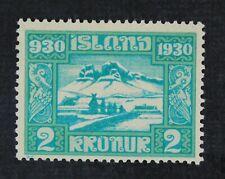 CKStamps: Iceland Stamps Collection Scott#164 Mint H OG