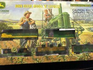 John Deere Model B Express Authentic HO Scale Train Set by Athearn NIB Unopened