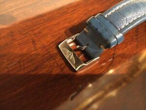 Bracelet Breitling cuir bleu