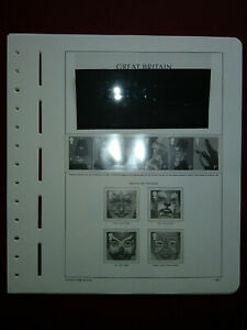 LIGHTHOUSE Commemorative Hingeless album pages Great Britain 2001 Used Ref 200.1