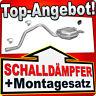 Endschalldämpfer FORD MONDEO MK3 2.0 DI/TDDI/TDCI 2.2 TDCI Kombi Auspuff TTN