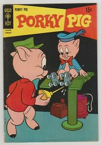 PORKY PIG #22 VG 1969 GOLD KEY COMICS