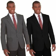 BANNER Boys Girls Kids School Blazer Uniform Formal Smart Zip Entry To Add Badge