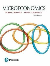 Microeconomics by Robert Pindyck and Daniel Rubinfeld (2017, Hardcover)