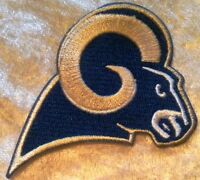 """Los Angeles LA Rams 3.5"""" Iron On Embroidered Patch ~USA Seller~FREE Ship"""