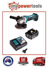 MAKITA 18V LI-ION DGA452 GRINDER + BL1830B 3.0ah BATTERY + DC18RC FAST CHARGER