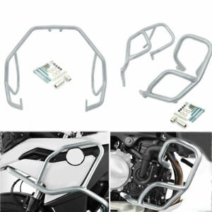 Upper & Lowe Tank Engine Guard Crash Bars For For BMW F750GS F850GS 2018-2020