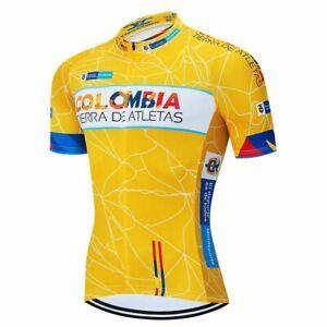 Cycling Team Jersey 2021 Colombia Bike Shorts Bib MTB Shirt Bicycling Clothing
