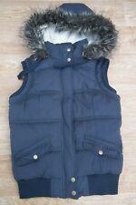 New Look Hudson & Rose Hooded Gilet Body Warmer Padded Khaki size UK 10