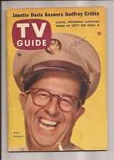 TV GUIDE -- Oct 29 - Nov 4, 1955 - Phil Silvers Janette Davis Ralph Edwards