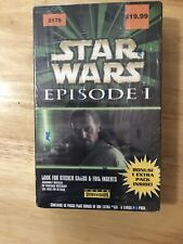 Star Wars Episode 1/ Topps Widevision/ Factory Sealed Box Set/ #2175.