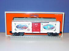 LIONEL  -  #  6  -  29957  -  2008  -  LRRC  DECORATIVE   CHRISTMAS   BOXCAR