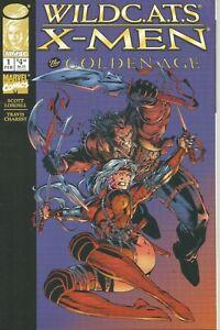 WildC.A.T.S/X-Men: The Golden Age #1 by Scott Lobdell & T Charest (Image, 1997)