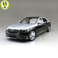 1/18 Benz Maybach S CLASS S650 2019 Almost Real Diecast Model Car Black & Silver