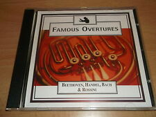 FAMOUS OVERTURES - BEETHOVEN HANDEL BACH & ROSSINI - CD ALBUM - UK FREEPOST