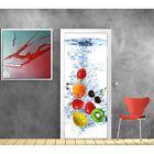 Papier peint porte Cuisine Fruits 727