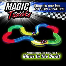 Best Sale Magic Tracks The Amazing Racetrack that Can Bend, Flex Glow Kid Toy SC
