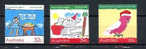 Australia MNH Christmas 1988 Childrens Art G504