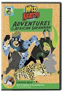 Wild Kratts: Adventures On The African Savannah [New DVD]