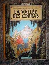 EO 1957 LA VALLEE DES COBRAS JO ZETTE ET JOCKO 4éme plat B 20 BIS HERGE