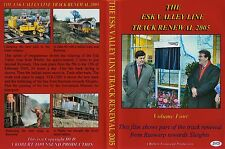 0201hhh5 Railways - Esk Valley Line Track Renewal (Part 1 of  4) DVD NYMR.....