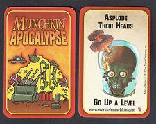 MARS ATTACKS INVASION (Topps/2013) MUNCHKIN APOCALYPSE Card (1:111 Packs)