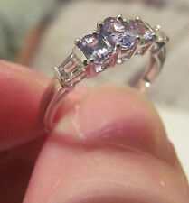 10Kt Tanzanite White Gold  Ring- Sz 7