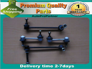 4 FRONT REAR SWAY BAR LINKS FORD EDGE 07-13